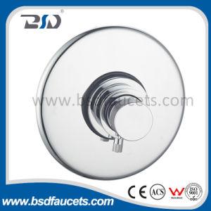 Válvulas termostáticas de ducha ocultas con placa redonda