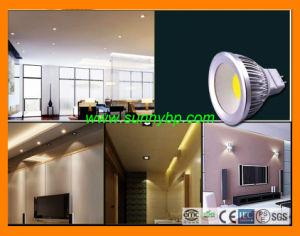 9W MR16 wärmen weißen LED-Scheinwerfer