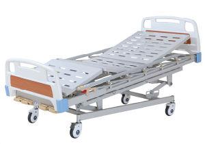 HS-BM001 Função cinco manivela manual cama de hospital