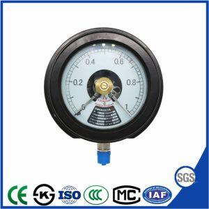 セリウムが付いている耐圧防爆電気接触の圧力計