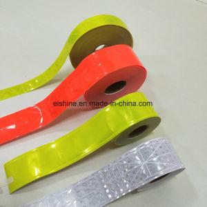 0.38mm de grosor Cinta de PVC reflectante costuras en el chaleco de seguridad