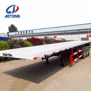 Flachbettbehälter-halb Schlussteile der China-Fertigung-20FT/40FT für Verkauf