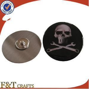 熱いSales Cheap Stainless Steel Printing Logo Badge Wholesale /Custom Metal Logo PinsかCustom Metal Pins