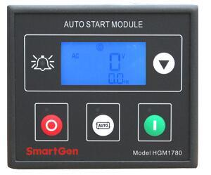 LCD 디스플레이와 Current Detection (HGM1780)를 가진 Smartgen Genset Controller