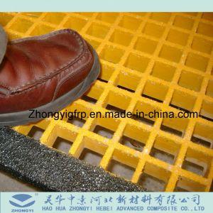 Mini coperchi grattare grattare della maglia di FRP/GRP nella superficie differente