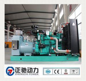 Norma Europeia 500kVA/50Hz Lovol conjunto aberto conjunto gerador a diesel (Médio Oriente venda quente)