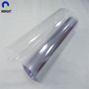 Lámina de plástico claro de película de PVC de 100 micras