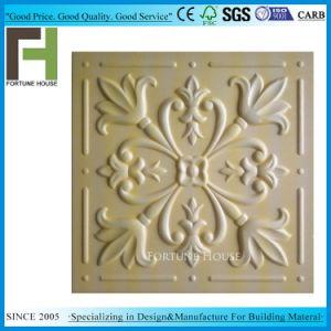 3D / panneau de plafond en mousse de polystyrène plafond en mousse de polystyrène de plafond