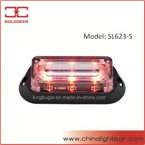 Linearer 3W LED Warnleuchten-Kopf für Auto-Dekoration (SL623-S-R)