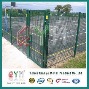 Doble el cable de alta seguridad puerta valla valla metálica de instrumentos