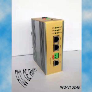 長距離のためのWd-V102-G 2ポートの電話回線のイーサネットアダプター