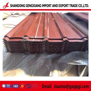 Strato d'acciaio ondulato del tetto di colore di PPGI PPGL