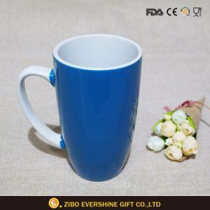 着色されたコーヒーカップの昇進の昇華陶磁器のマグ