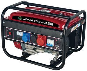 2.6Kw o retroceso de 3 fases de arranque eléctrico Generador Gasolina
