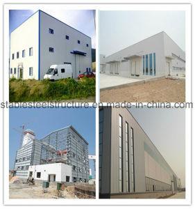 Estructura de Portal Industrial Metal edificios de acero con grúa