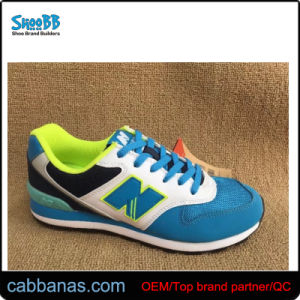 Simple de la mujer Casual Sport Stock zapatos Zapatillas Zapatillas de entrenamiento para niñas
