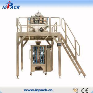 De China de fábrica del precio máquina automática para las virutas del embalaje, caramelo, habas del sistema de empaquetado por completo