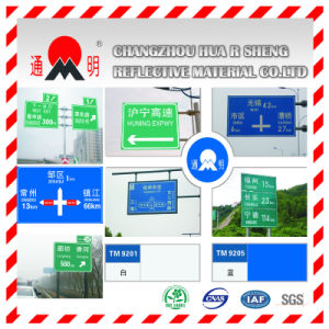 Fita refletiva para sinal de trânsito