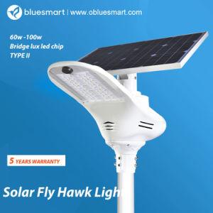 Einteilig/integrierte Solar-LED-im Freiengarten-Straßenlaternemit Bewegungs-Fühler