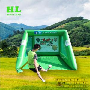 Ballon de soccer de la Cour de soccer de jeu de tir de football gonflable
