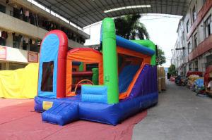 Casa/cabritos inflables de la gorila del castillo del arco iris que saltan a la gorila Chb298 del aire del castillo