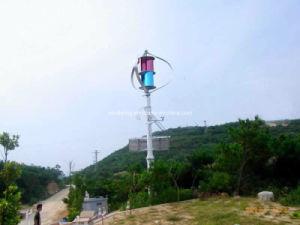높은 능률적인 3kw 수직 축선 풍력 터빈 떨어져 격자 시스템