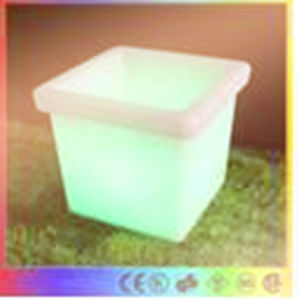 Bz-Fl002 RGB blinkender Plasitc LED Eis-Eimer