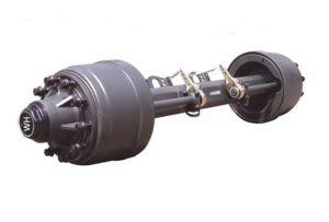 Для тяжелого режима работы Полуприцепе часть/ось колеса прицепа/мосты высокого качества для прицепов автомобильных деталей