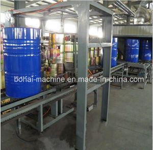 溶接機が付いているスチールドラムの生産機械