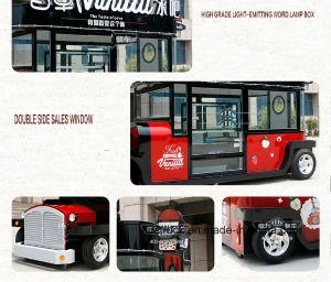 セリウムの公認の屋外の移動式食糧トラックの通りの移動式食糧トラックの中国の工場移動式食糧トレーラー