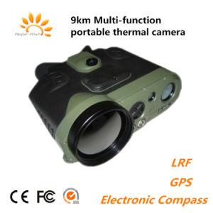 9km integrierenLrf GPS und elektronischer Kompass-Multi-Funtion bewegliche thermische Kamera