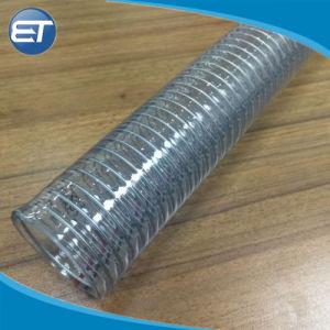 Tubo flessibile/tubo di rinforzo a spirale non tossici trasparenti flessibili del filo di acciaio del PVC