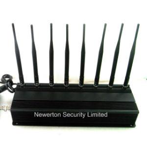 8 GPS WiFi Signal Jammer UHF VHF Lojack Jammer van Cell Phone van antennes 4G