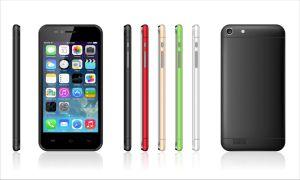 4.6inch 3G Smartphone mobiele Q6 5color Option