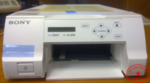 초음파, 내시경 검사 및 심장 응용을%s 낙관되는 up-D25MD 디지털 색깔 염료 승화 인쇄 기계