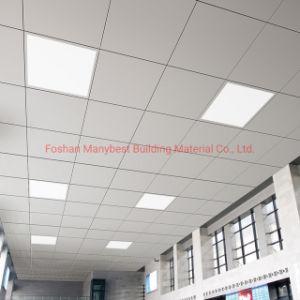 2019 decoración de azulejos de techo de aluminio perforado falso techo de 60X60