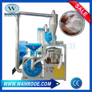 Los residuos de PVC blando duro/WPC/UPVC//HDPE LDPE/LLDPE/Nylon/PET/ABS/EVA/PP/PE hojuela de plástico de desecho de la máquina pulverizador