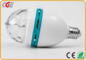 As lâmpadas de luz LED luzes giratórias em cores de LED de 3 W/5W E27/B22 RGB LED Spotlight Globo LED mini lâmpadas LED das luzes de parte das lâmpadas de luz RGB LED Discoteca