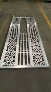 Laser/coupe CNC Feuille en aluminium à revêtement poudré & Mashrabiya Panneau en aluminium
