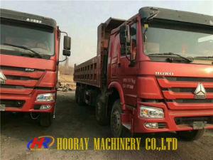 使用されたHOWO重いTruck/12tyres 8X4によって使用されるHOWOのダンプトラックのダンプカー