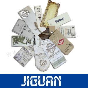 Vêtement de papier en plastique imprimé personnalisé Étiquette de pivotement