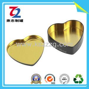 Heart-Shaped 생철판은 선물 양철 깡통 포장을%s 할 수 있다