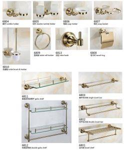 8300 de heet-Verkoopt Badkamers Accessories&Fittings van de reeks in Gouden Kleur