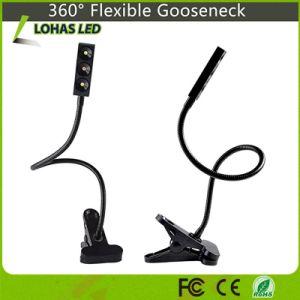 La pianta dell'indicatore luminoso bianco e di spettro completo 3W si sviluppa chiara con 360° Gooseneck flessibile