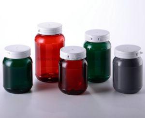 bottiglia di plastica dell'animale domestico della medicina 200ml con la protezione di plastica