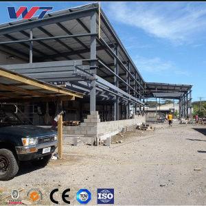 다중 경간 무겁거나 가벼운 SGS 강철 구조물 건물 별장 작업장 창고, 농장 저장에 의하여 이용되는 물자 집