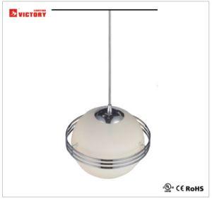 高品質のガラスシャンデリアLED吊り下げ式の軽いハングランプ