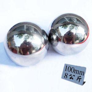 ballen van het Metaal van de Massage van de Oefening van het Roestvrij staal van 70mm de 100m Stevige Gezonde