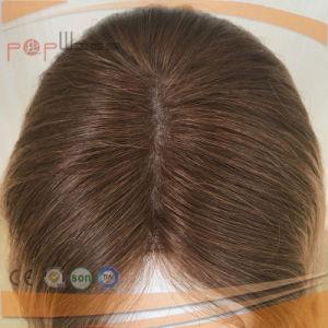 ブラジルの毛のユダヤ人のユダヤのToupee (PPG-l-047)