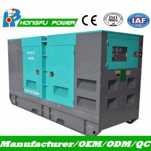 Cummins-leises Generator-Set mit DES-Controller-super leisem Kabinendach 75kVA